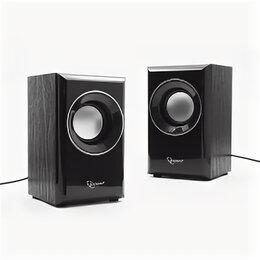Компьютерная акустика - Звуковые колонки 2.0 Gembird SPK-204, МДФ, черн.,2, 0