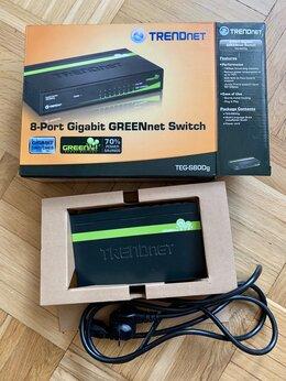 Сетевые накопители - TRENDnet 8-портовый коммутатор Gigabit greennet…, 0