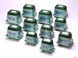 Оборудование для аквариумов и террариумов - Компрессоры Hiblow Airmac Secoh для септика пруда, 0