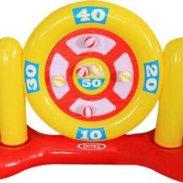 Дартс - Игровой набор Интекс надувной Дартс для бассейна 7х57х97см от 6 лет 56509, 0