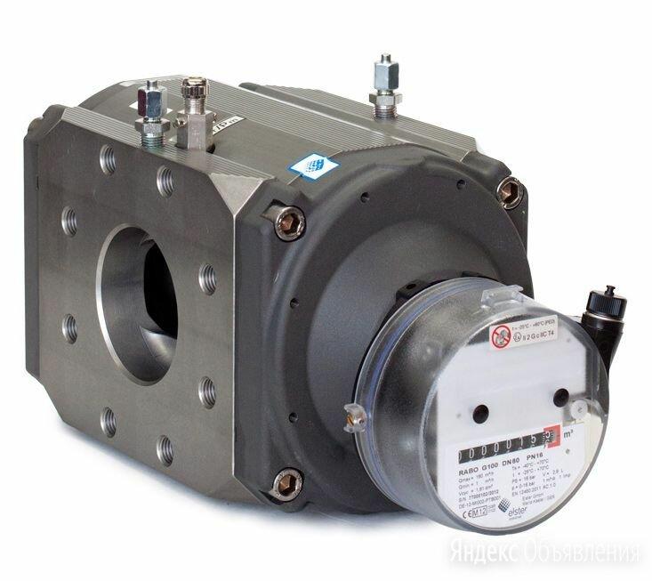 RABO G 100 счетчик газа Ду 80 (диапазон 1:160) по цене 144897₽ - Элементы систем отопления, фото 0