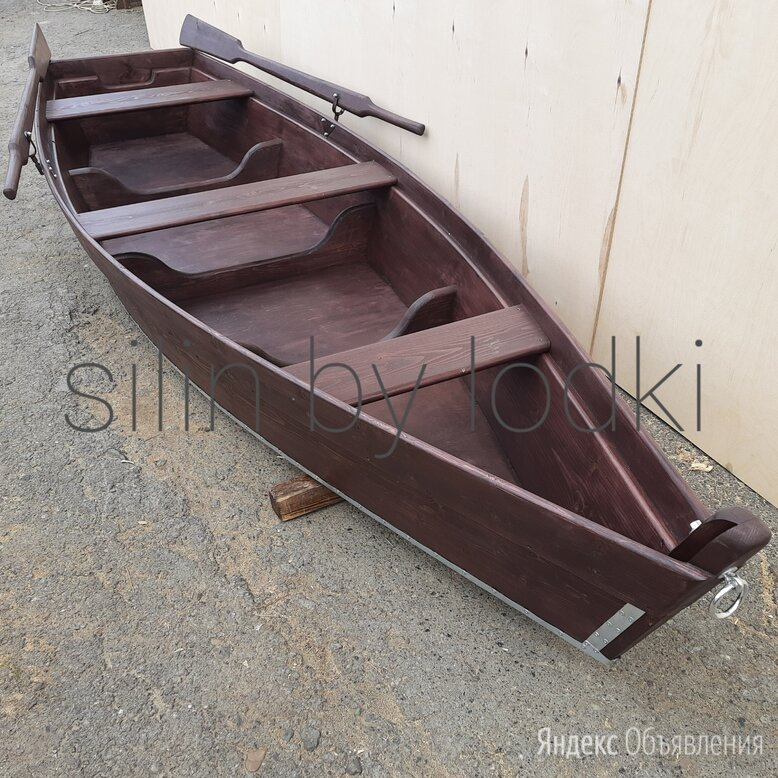 Лодка деревянная по цене 23000₽ - Моторные лодки и катера, фото 0