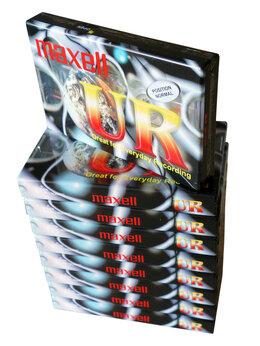 Музыкальные центры,  магнитофоны, магнитолы - Maxell - UR90 - Position Normal - Кассета, 0