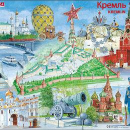 """Пазлы - Пазл """"Кремль"""", 61 элемент Larsen, 0"""