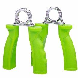 Эспандеры и кистевые тренажеры - Эспандер кистевойES-301 пружинный, жесткая ручка (пара), 0
