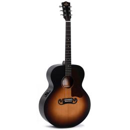 Акустические и классические гитары - Sigma GJM-SGE Гитара акустическая, Grand Jumbo,…, 0