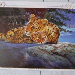 Пазлы - Новые пазлы Леопарды, 0