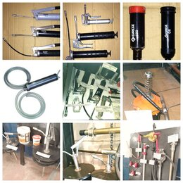 Производственно-техническое оборудование - Шприцы плунжерные для смазки, насосы бочковые,…, 0