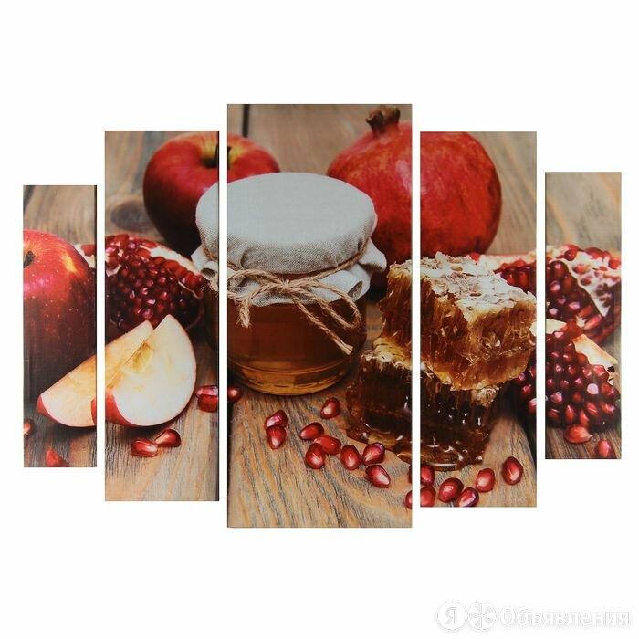 """Картина модульная на подрамнике """"Медово-фруктовое удовольствие"""" 80х118 см по цене 2596₽ - Картины, постеры, гобелены, панно, фото 0"""