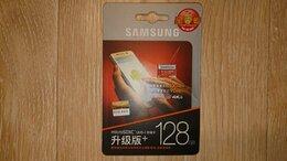 Карты памяти - Samsung EVO 128g Micro sdxc UHC-1 class 10 - новая, 0