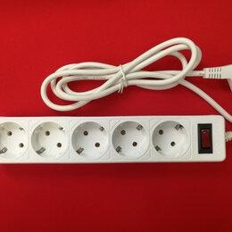Источники бесперебойного питания, сетевые фильтры - Сетевой фильтр SmartBuy One 5 розеток 10А 2200W белый 1.8 м, 0