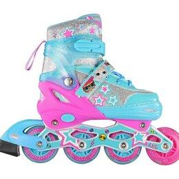 Скейтборды и лонгборды - Ролики LOL, PU колеса со светом, размер S (30-33) арт.Т17738, 0