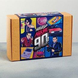 """Подарочные наборы - Набор """"Лихие 90-е"""", ручка, пистолет, карты, часы…, 0"""