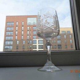 Бокалы и стаканы - Продам фужеры богемский хрусталь Чехия, 0
