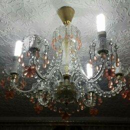 Люстры и потолочные светильники - Люстра винтажная Богемия, 0