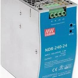 Блоки питания - Ьлок питания 24В 10А NDR-240-24 Meanwell, 0