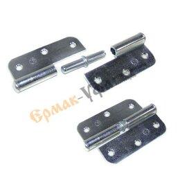 Петли дверные - Петля ПН-1-110 левая цинк (без шурупов), 0