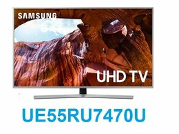 "Телевизоры - 55"" 4K LED Smart TV Samsung UE55RU7470U / 2000 PQI, 0"