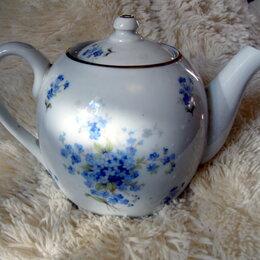 Чайники - Антикварный заварочный чайник Чехословакия, 0