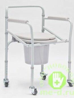 Приборы и аксессуары - Кресло-каталка с санитарным оснащением для…, 0