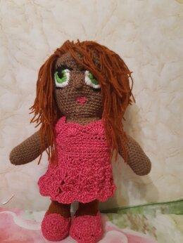 Куклы и пупсы - Кукла вязаная, 0