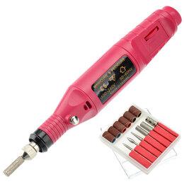 Инструменты для маникюра и педикюра - Аппарат для маникюра Mini Nail Drill красный, 0