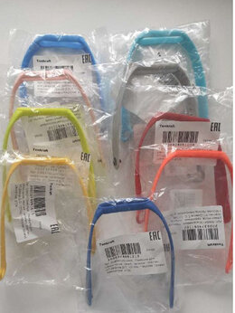 Ремешки для часов - Ремешок для mi band 5, разные цвета, 0