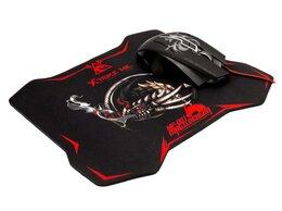 Мыши - Мышь игровая Xtrikeme GMP-501 черный USB и коврик, 0