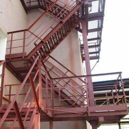 Лестницы и элементы лестниц - ЛГВ 45-36.9 Лестница стальная маршевая Серия 1.450.3-7.94, 0