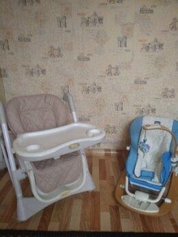 Стульчики для кормления - детский стол-стульчик и качалка для кормления, 0