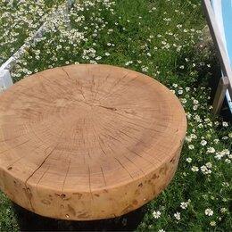 Столы и столики - Столик из спила дерева, 0