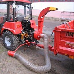 Воздуходувки и садовые пылесосы - Пылесос садово- парковый навесной тракторный ППН-320, 0