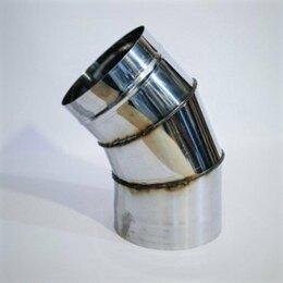 Дымоходы - Колено 45 гр для дымохода, 0