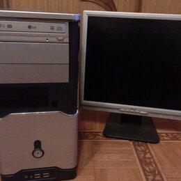 Настольные компьютеры - Компьютер (комплект) для работы и поиграть можно., 0