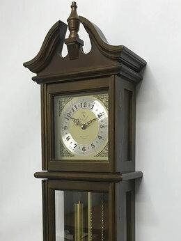 Часы настенные - НАСТЕННЫЕ ЧАСЫ С МАЯТНИКОМ, МЕЛОДИЕЙ И БОЕМ…, 0