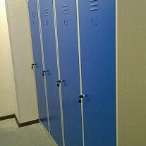 Мебель для учреждений - Металлический шкаф для одежды эконом класса , 0