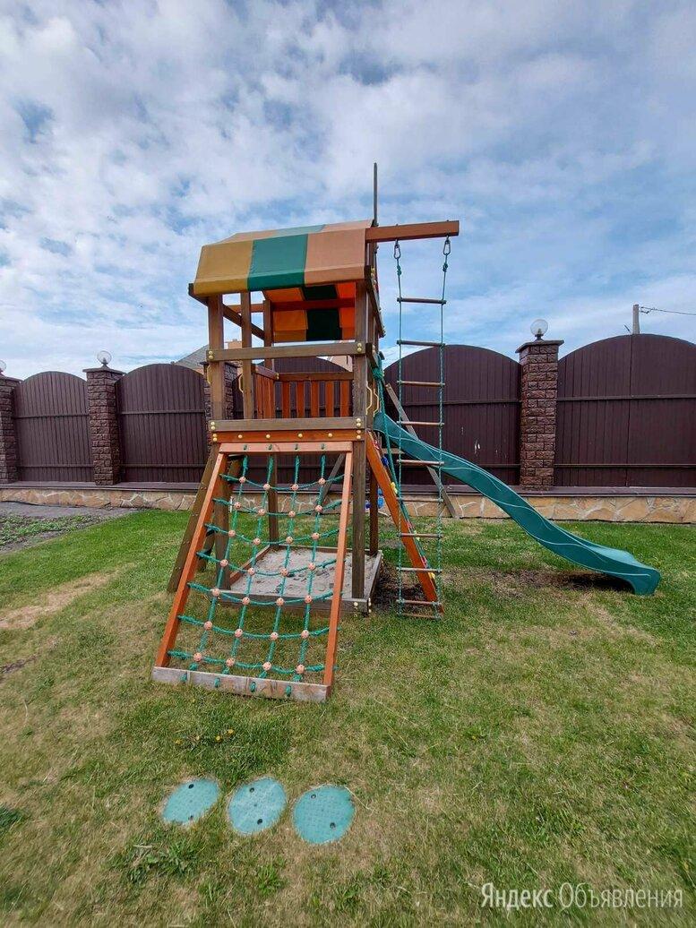 Детская игровая площадка по цене 34990₽ - Игровые и спортивные комплексы и горки, фото 0