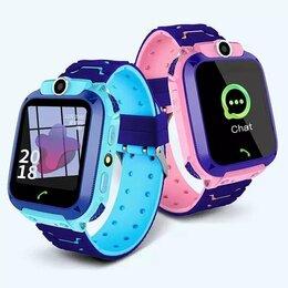 Умные часы и браслеты - Детские смарт-часы Q12 Smart Watch LBS, 0