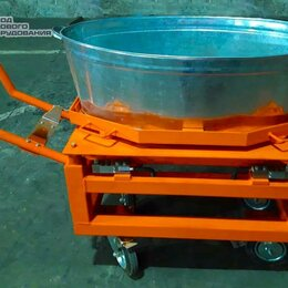 Прочие товары для животных - Весы для животных с подвесной клеткой на колёсах ВП-С 3000 кг (3 тонны), 0