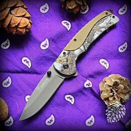 Ножи и мультитулы - Нож складной Boker 137 Sand полуавтомат, 0