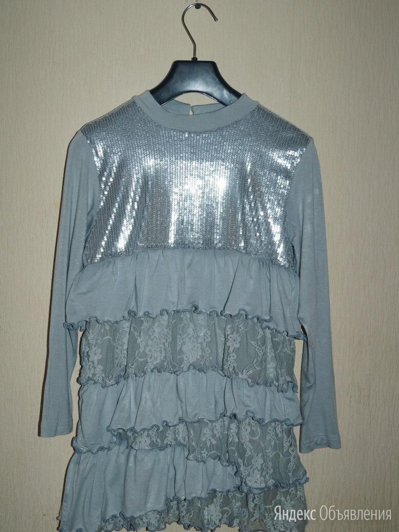 Платье на 8-10 лет (туника) и легинсы по цене 400₽ - Платья и сарафаны, фото 0