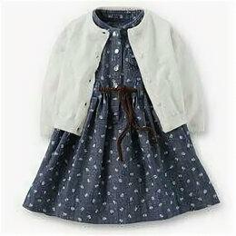 Платья и юбки - Новый к-т carters 24м платье+ кардиган+ трусы, 0