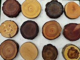 Рукоделие, поделки и товары для них - Спил дерева для декора деревянные кружочки спилы…, 0