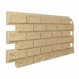 Сайдинг - Панель отделочная VILO  Brick MARRON фуга, 0