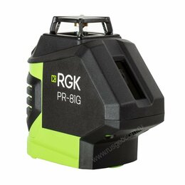 Измерительные инструменты и приборы - Лазерный нивелир RGK PR-81G, 0