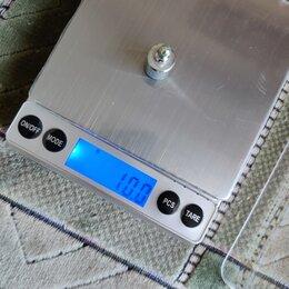 Прочая техника - Весы электронные точность 0,1 грамма + батарейки, 0