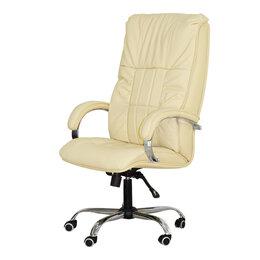 Массажные кресла - Офисное массажное кресло EGO BOSS EG1001 КРЕМ (Арпатек), 0