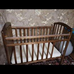Колыбели и люльки - Кроватка девевянная (состояние новой) , 0
