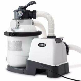 Фильтры, насосы и хлоргенераторы - Фильтр-насос песочный 4000 л/ч , масса песка…, 0