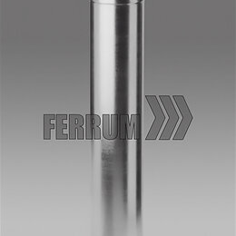 Дымоходы - Сэндвич дымоход 160х250 (L= 1,0м) (430/0,8мм + оц.) Феррум, 0